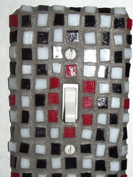 Mosaic Light Switch - Sold