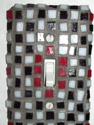 Mosaic Light Switch - Sold