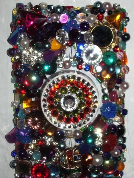 Bejeweled Light Switch Cover - Sold
