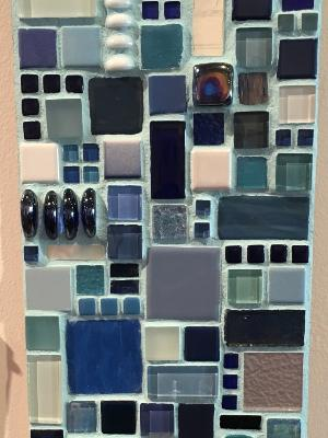 Untitled Blue Mosaic