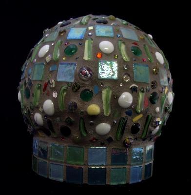 Mosaic Ball Side II - Sold