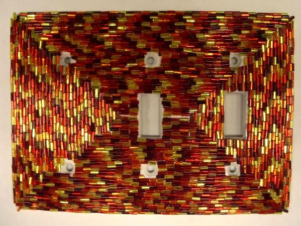 Firery Light Switch - Sold