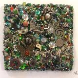 Green Square II - Unframed