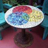 Rainbow Garden Table - Sold