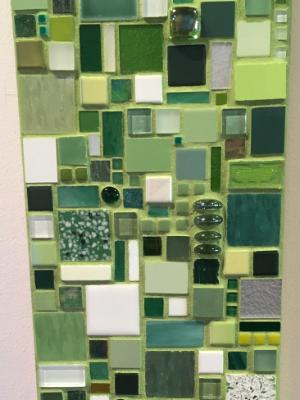 Untitled Green Mosaic
