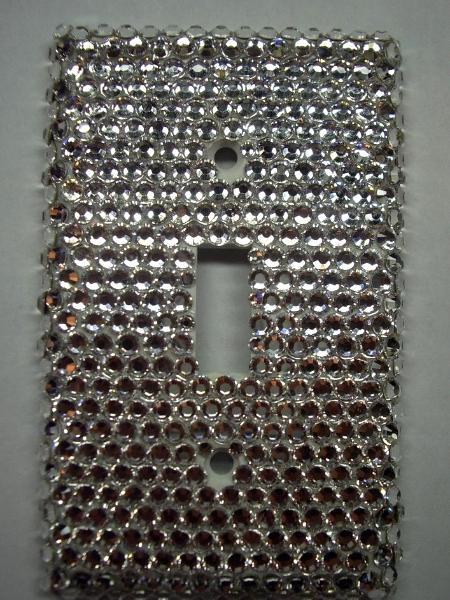 Swarovski Crystal Light Switch - Sold